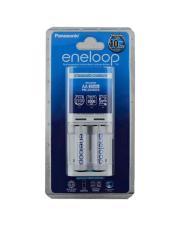 Eneloop K-KJ50MCC2TA 2 AA Battery + Standard Charger