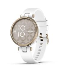 Garmin Lily HR Smartwatch - Gold Bezel w Silicone Band