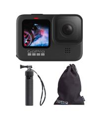GoPro HERO9 Black w Bag & Tripod Grip