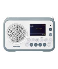 Sangean DPR-76 Portable Digital Radio - Stone Blue