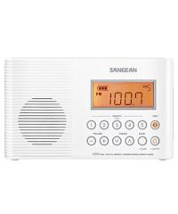 Sangean H201 Waterproof Analogue Radio - White