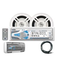 Dual MCP1337BTS Media Receiver w Speakers & Splashguard