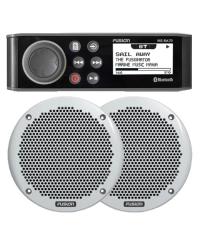 Fusion MS-RA70 Marine Entertainment System & MS-EL602 150W Speakers