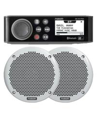 Fusion MS-RA70N Marine Entertainment System & MS-EL602 150W Speakers