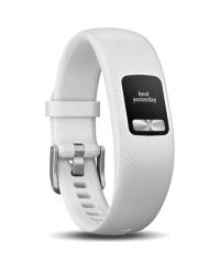 Garmin Vivofit 4 - White (Small/ Medium) Club Bundle